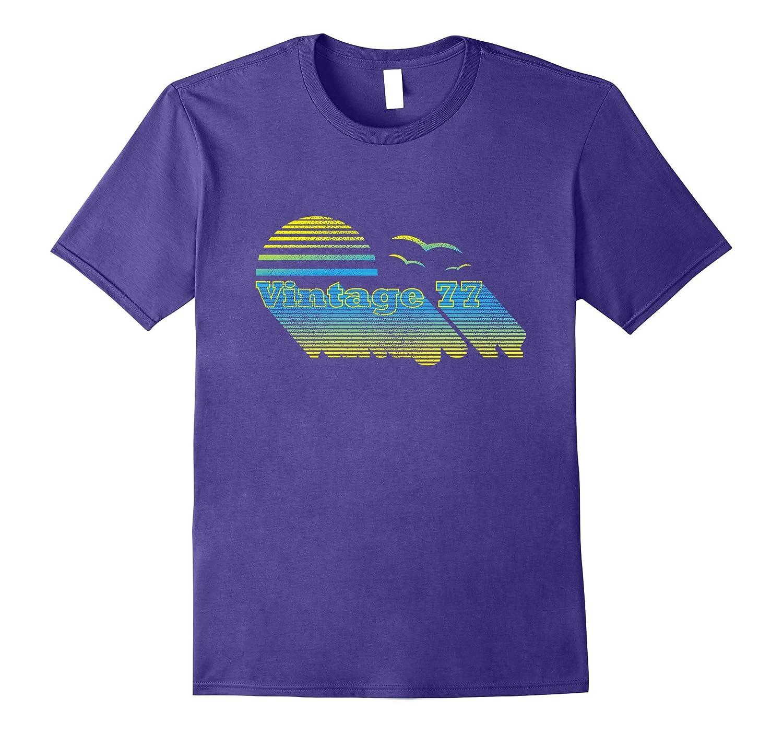 40th Birthday Shirt Vintage 77 Born in 1977 Gift T-Shirt-Art