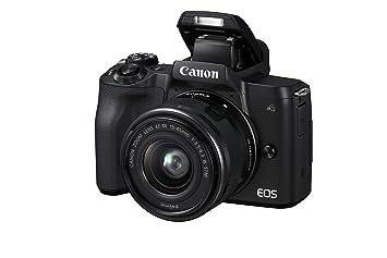Canon EOS M50 Cuerpo Negro + 15-45 mm + 22 mm: Amazon.es: Electrónica