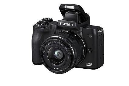 Canon EOS M50 - Kit de cámara EVIL de 24.1 MP y vídeo 4K con ...