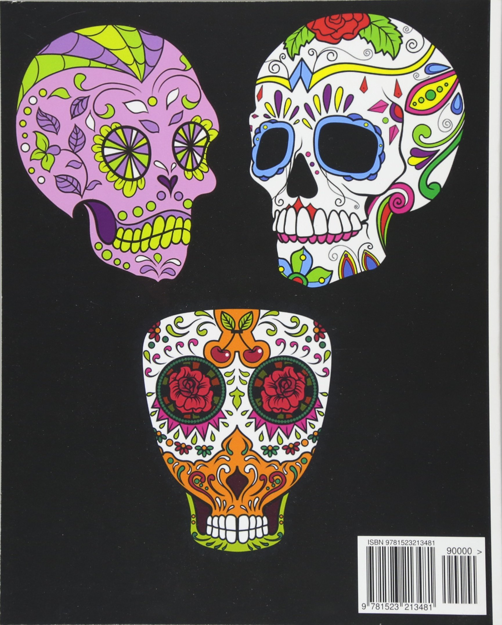 Amazon.com: Adult Coloring Book Day Of The Dead: Dia De Los