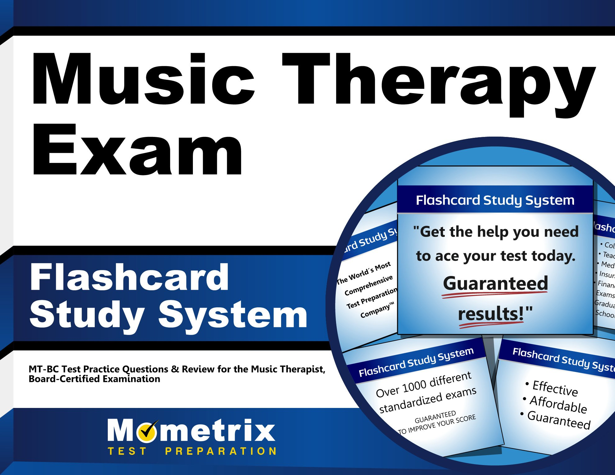 Buy Music Therapy Exam Flashcard Study System Mt Bc Test Practice