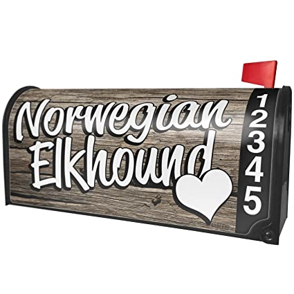Amazon com: NEONBLOND Norwegian Elkhound, Dog Breed Norway Magnetic
