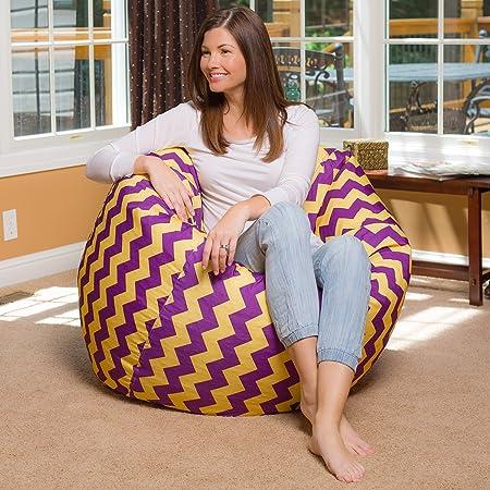 Copertura in PVC Copertura beanbag Indoor e Outdoor Green Bean /© Square XXL beanbag Cover 140x180 cm Rosso