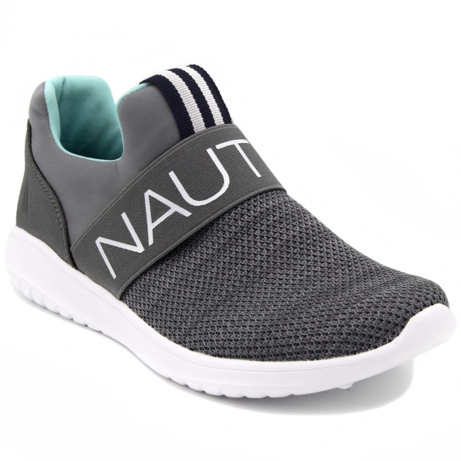 Nautica レディース ww0021 B079P8R6TH 8 B M US|Radical Grey Slip-on Radical Grey Slip-on 8 B M US