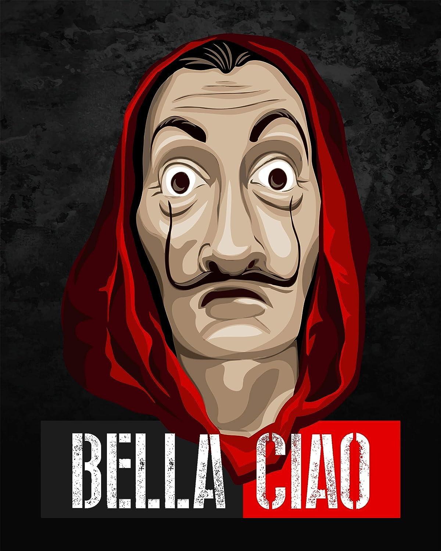Amazon Com Bella Ciao Poster High Quality Print Small Medium Large Xlarge Handmade