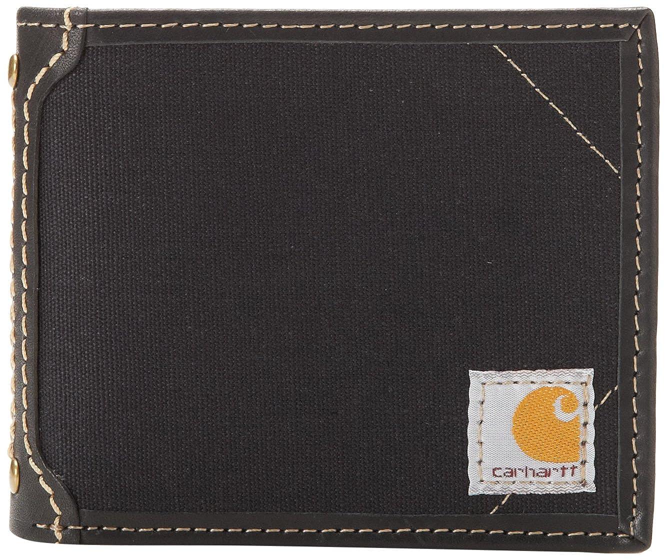 33f05be56052 Carhartt Men s Canvas Passcase Wallet