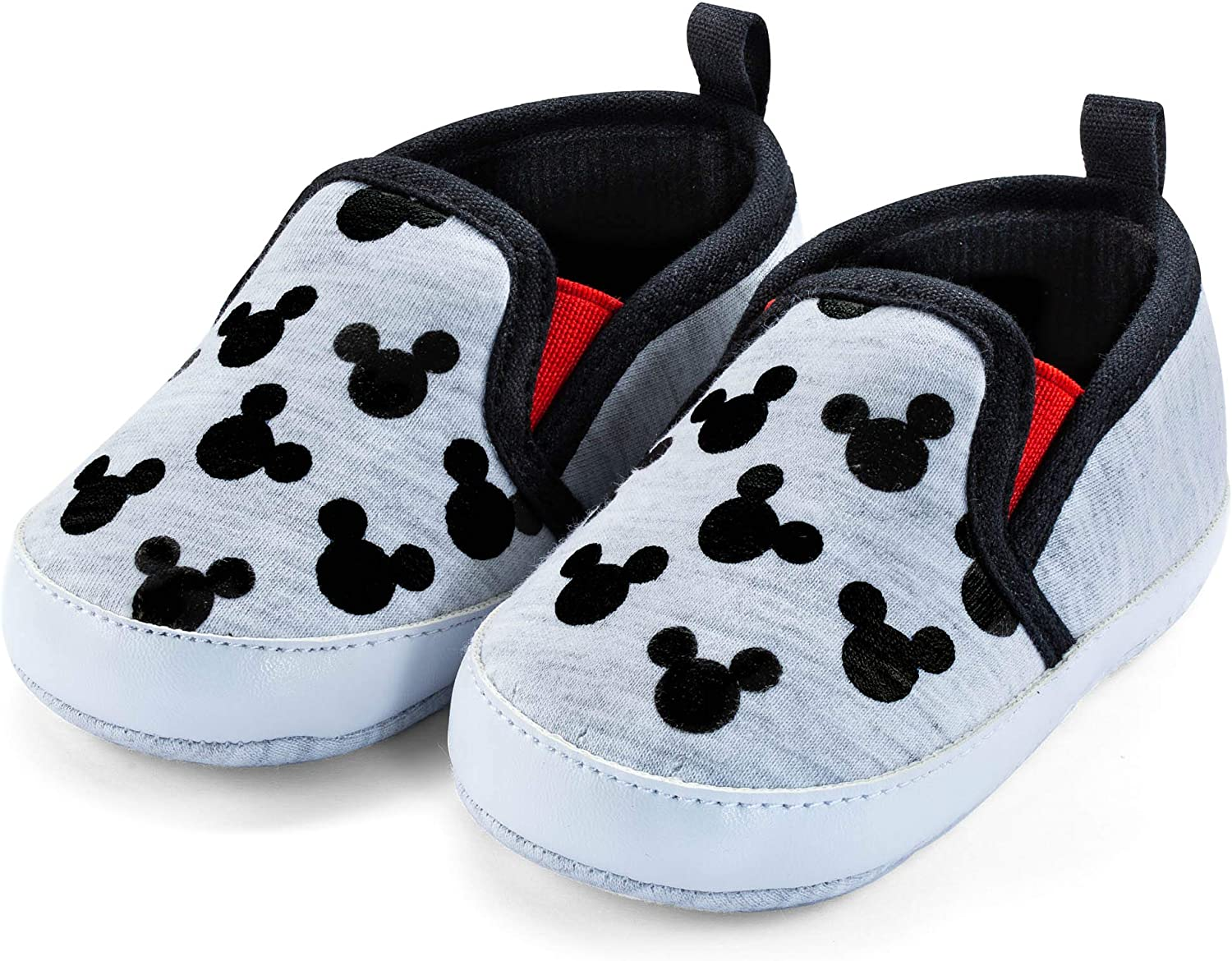 Disney Mickey Mouse Red and Black Infant Shoes