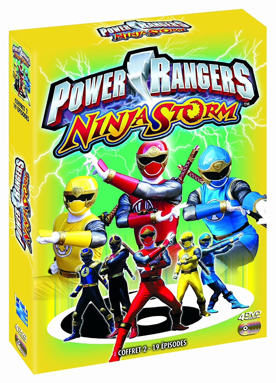 Power rangers - ninja storm, vol. 2 [Francia] [DVD]: Amazon ...