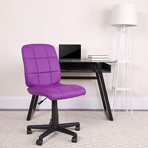Flash Furniture Purple Swivel Task Office Chair - Best Vivid Colors