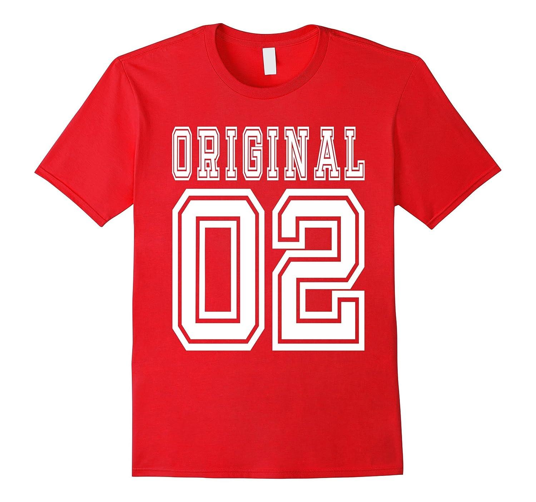 14th birthday Gift Idea 14 Year Old Boy Girl Shirt 2002-CL