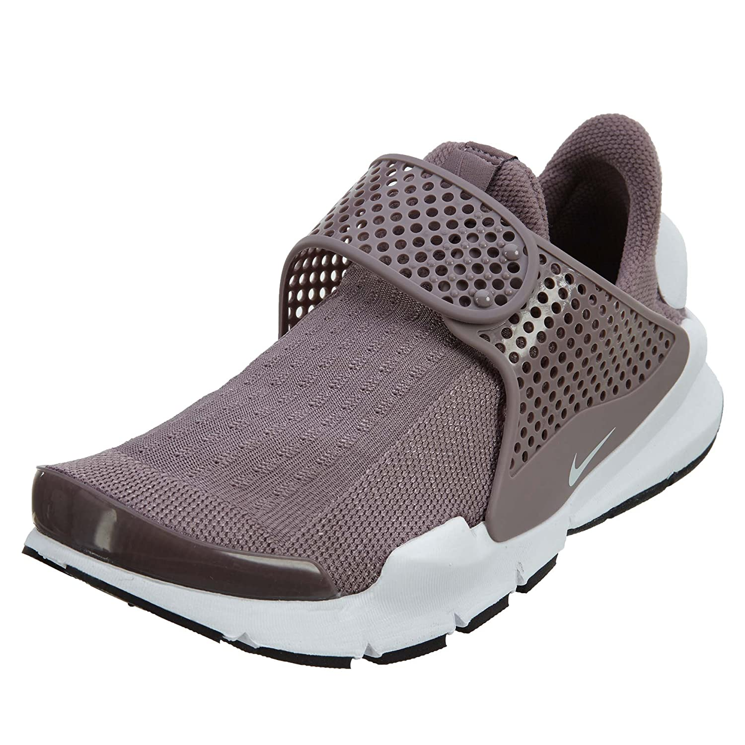 NIKE Womens Sock Dart Running Shoes B073S3226D 9 B(M) US|Taupe Grey/White-black