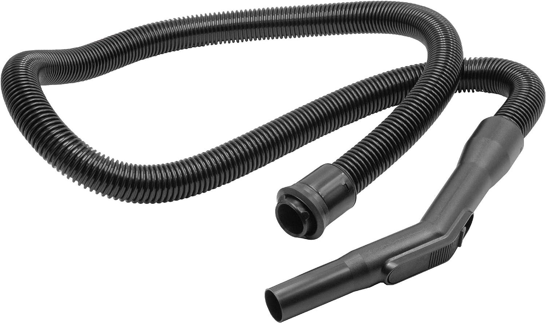 vhbw Tubo flexible compatible con Nilfisk GM80, GM80P, GM90, GM90P, GMD, GS80 aspiradora con 32mm conexión, negro con mango: Amazon.es: Hogar
