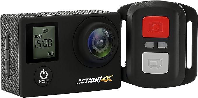 WLAN 170 /° Weitwinkel Ultra Full HD Touchscreen Mini-Kamera mit Taschenlampe Tauchen 4K Unterwasser-Kamera Sport Action-Kameras Fernbedienung wasserdicht Action-Kamera