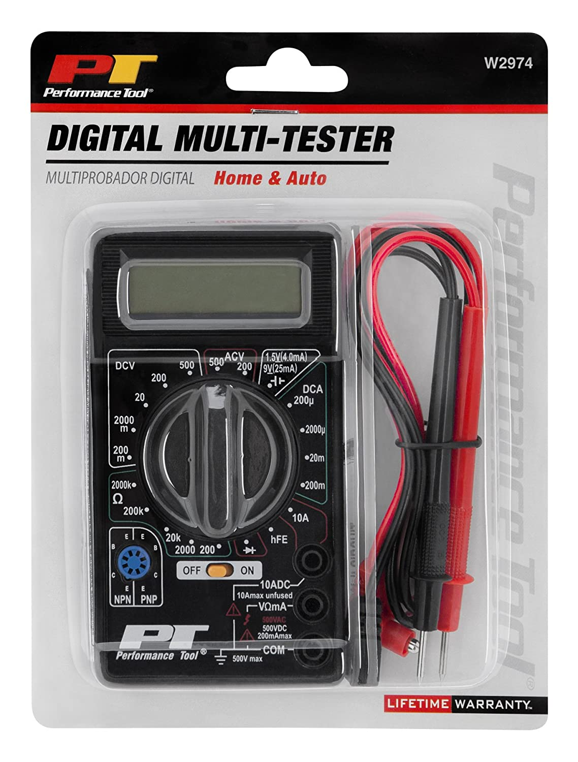 Performance Tool W2974 Digital Tester Wilmar Automotive Electronic Thermometer Circuit Expert Circuits