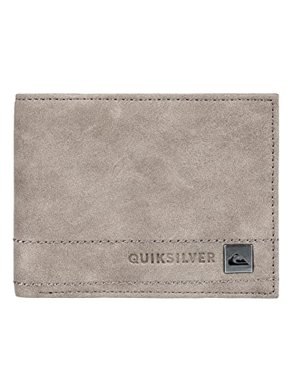 Quiksilver - Cartera de dos secciones - Hombre - L - Negro: Quiksilver: Amazon.es: Ropa y accesorios