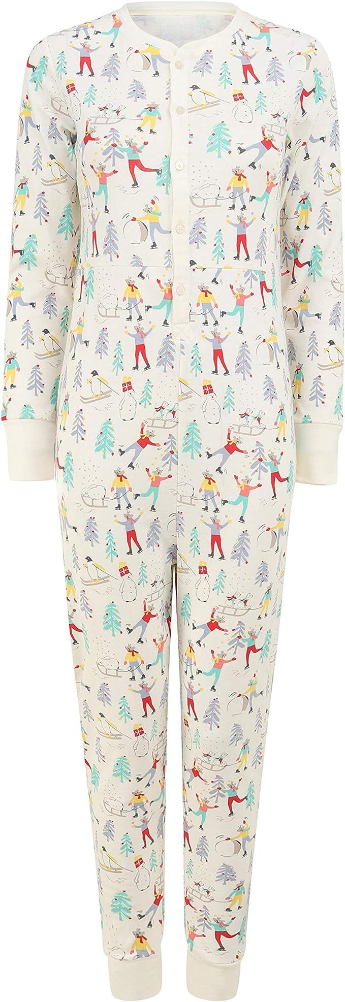 Piccalilly Pijama algodón orgánico para Mujer: Amazon.es: Ropa y accesorios