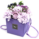 Soap Flower Bouquet - Lavender