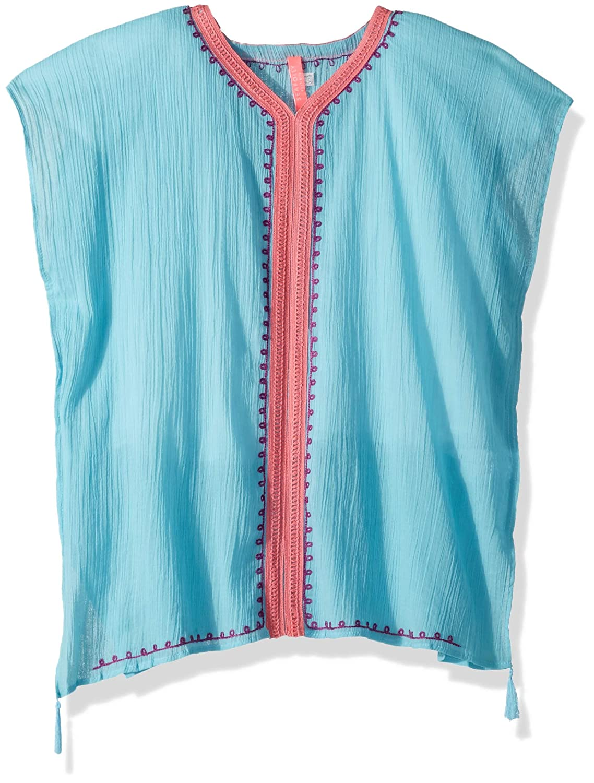 Seafolly Girls' Big Embroidered Kaftan, 56418