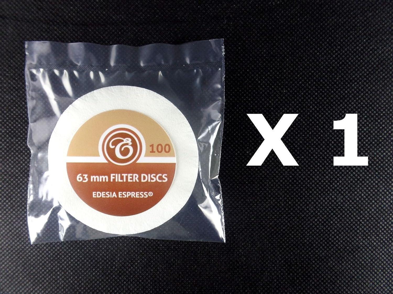 Pack de 100 filtros de papel para caf/é Para AeroPress de Aerobie EDESIA ESPRESS Tipo disco
