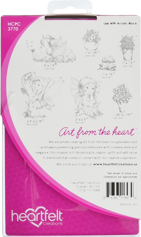 Heartfelt Creations – Juego de Sellos para Estampado x (Goma, 0,63 x Estampado 12.95 X 20,32 cm, 19.68 x 12.7 x 1.21 cm cfaba2