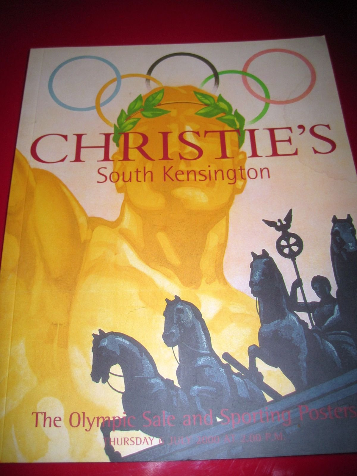 Christie's Auction Catalog The Olympic Sale and Sporting Posters (July 6, 2000 South Kensington) PDF