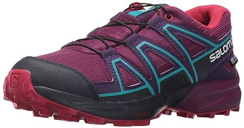 separation shoes d7768 d3d0d SALOMON Unisex-Kinder Speedcross CSWP J Traillaufschuhe, dunkelviolett,  13.5 EU