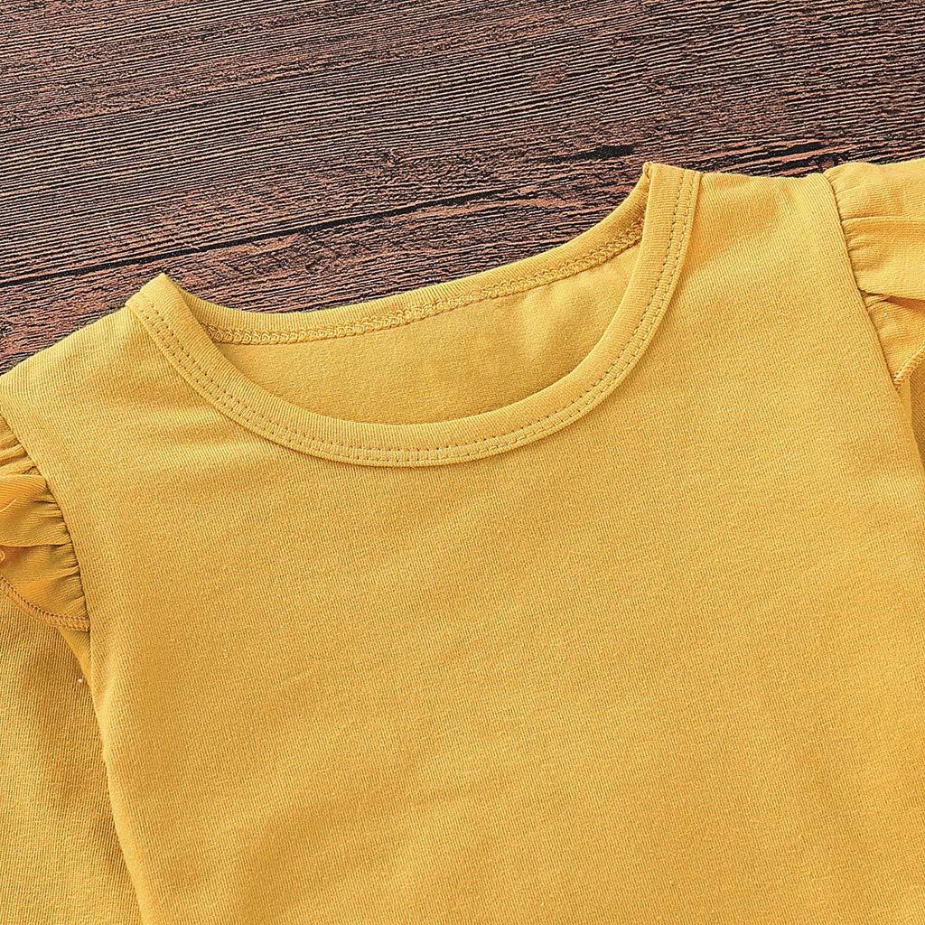 f3313cf8b5d Poachers Ropa Bebé Niña Invierno en Oferta 2 pcs/Conjuntos Bebé Niña Recién  Nacido 0 a 18 Meses Otoño Pijama Blusa T-Shirt Bebé Manga Larga Camisa  Primavera ...
