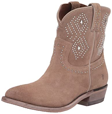 f7484b72edc FRYE Women s Billy Stud Short Ankle Boot Beige Multi 5.5 ...