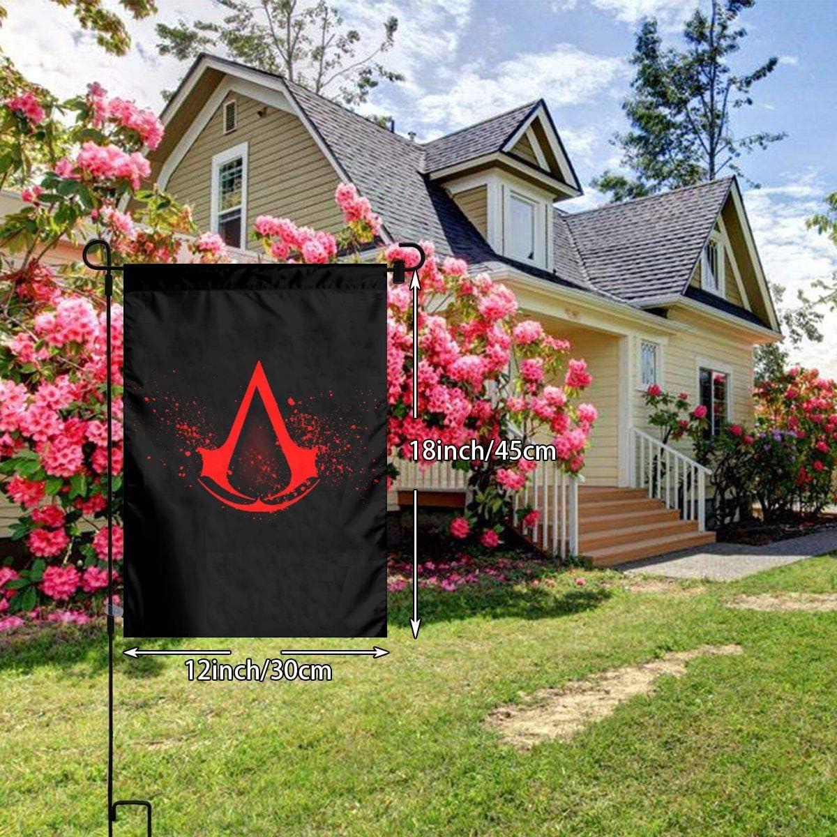 A Assassins Creed banderas bandera bandera bandera Banner poli/éster Material Gartenbalkon Gartendekoration al aire libre 30x45 cm N