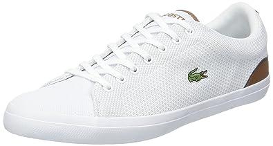 Baskets Lacoste Lerond 318 Cam pour homme en blanc. Blanc
