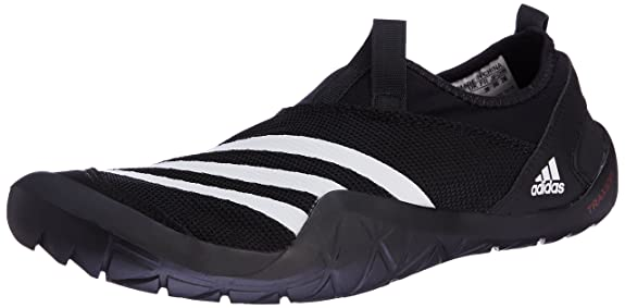 purchase cheap 51eb4 d8d54 adidas Men s Climacool Jawpaw Slip On Trainers, Black White   Grey  (Negbas Ftwbla   Plamet), 11 UK  Amazon.co.uk  Shoes   Bags