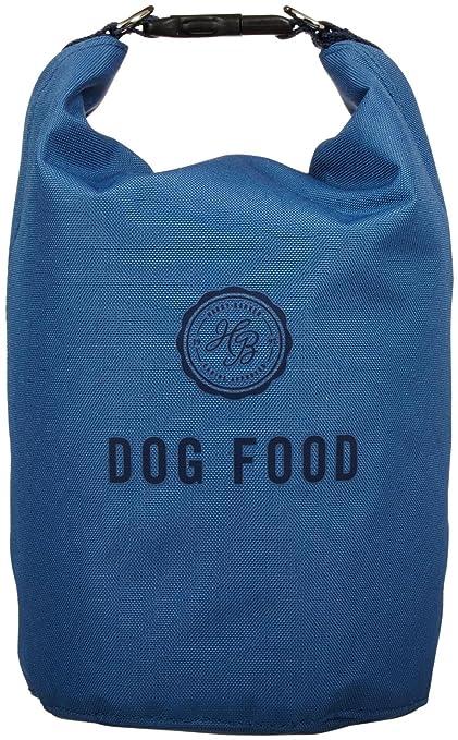 Harry Barker Blue Travel Dog Food Storage Bag
