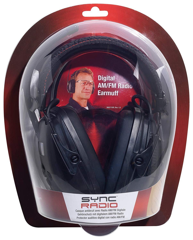 SNR 29 Honeywell 1030330 Howard Leight Casque Antibruit Sync Digital AM//FM Radio
