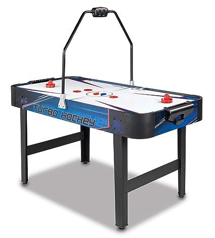 Amazoncom Sportcraft Inch Forecheck Hockey Table Sports - Sportcraft turbo air hockey table