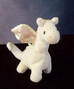 TY Beanie Baby - MAGIC the White Dragon (4th Gen hang tag)