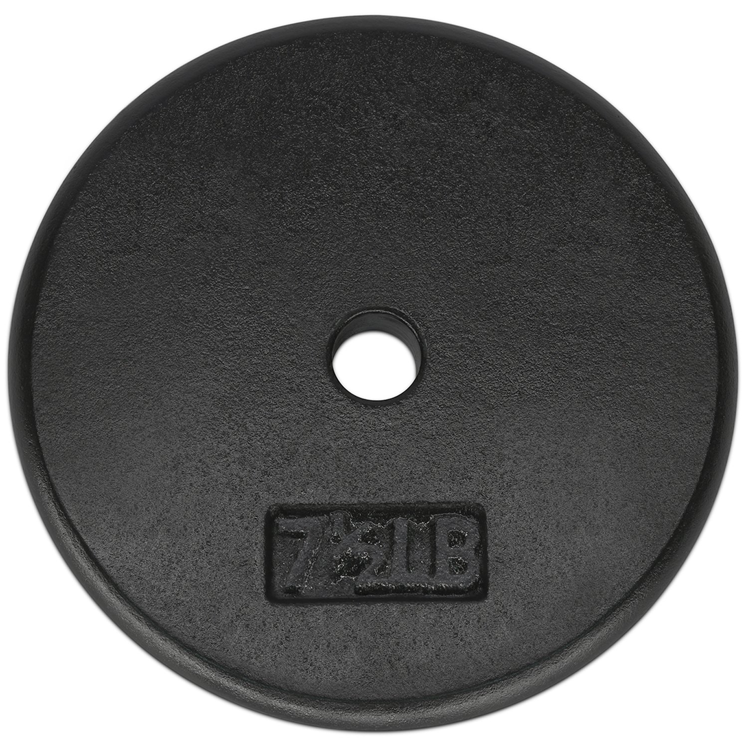 Yes4All 1-inch Cast Iron Weight Plates for Dumbbells – Standard Weight Disc Plates (7.5 lbs, Single)
