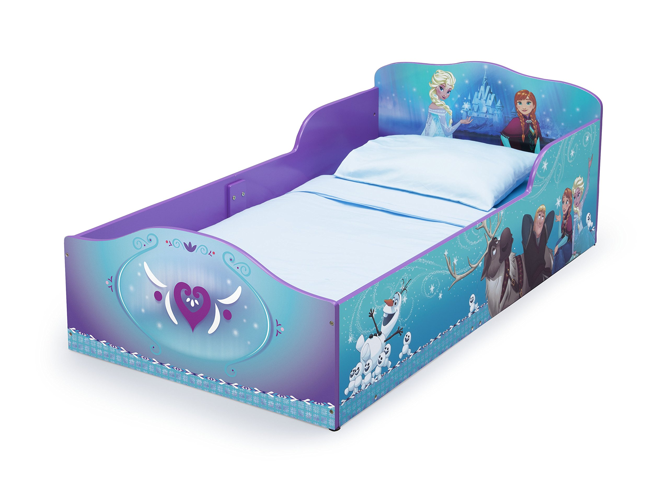 Delta Children Wood Toddler Bed, Disney Frozen by Delta Children (Image #2)