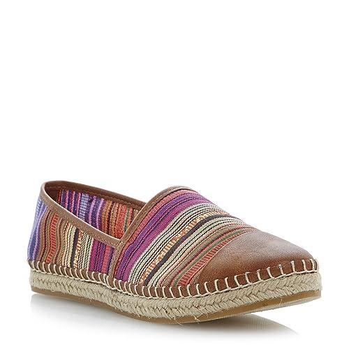 Steve Madden - Mocasines de tela para mujer Multicolor multicolor: Amazon.es: Zapatos y complementos
