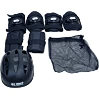 Henco Protective Gear Set/Kit (Pack of 7) for Ice and Roller Cycling Skating, Skateboard, Hover Board, Biking, Cycling, Skating, Rolling, and Other Extreme Sports for Boy/Girl.