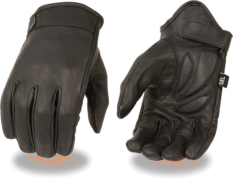 Milwaukee MG7510-BLK-XS Mens Summer Cruising Gloves Black, X-Small