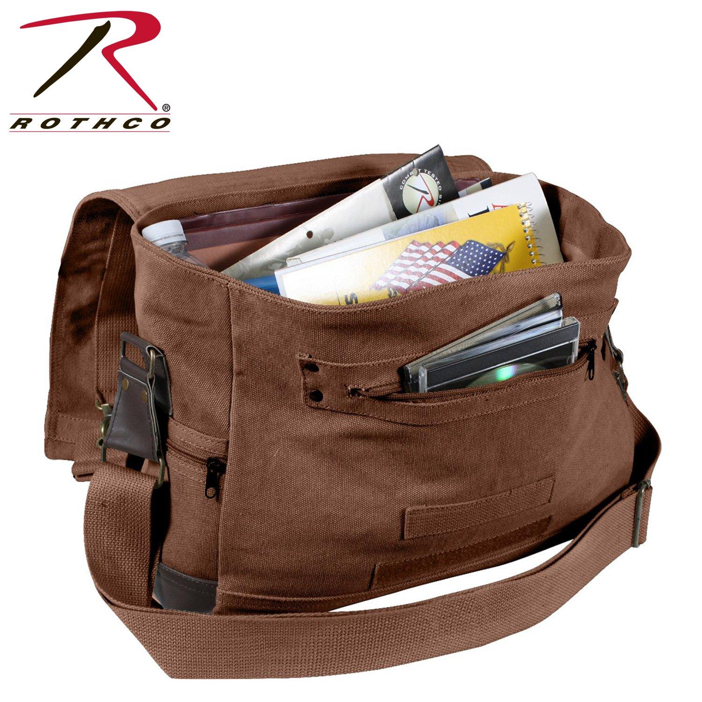 Rothco Vintage B-15 Pilot Messenger Bag