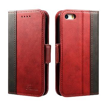 a469b66ef4 iphone se ケース 手帳型 iphone5s ケース Rssviss カード入れ 横置きスタンド機能 高級PU