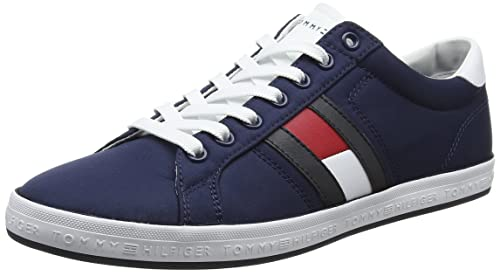 come ottenere la più grande selezione di ufficiale più votato Tommy Hilfiger Essential Flag Detail Sneaker, Sneakers Basses Homme
