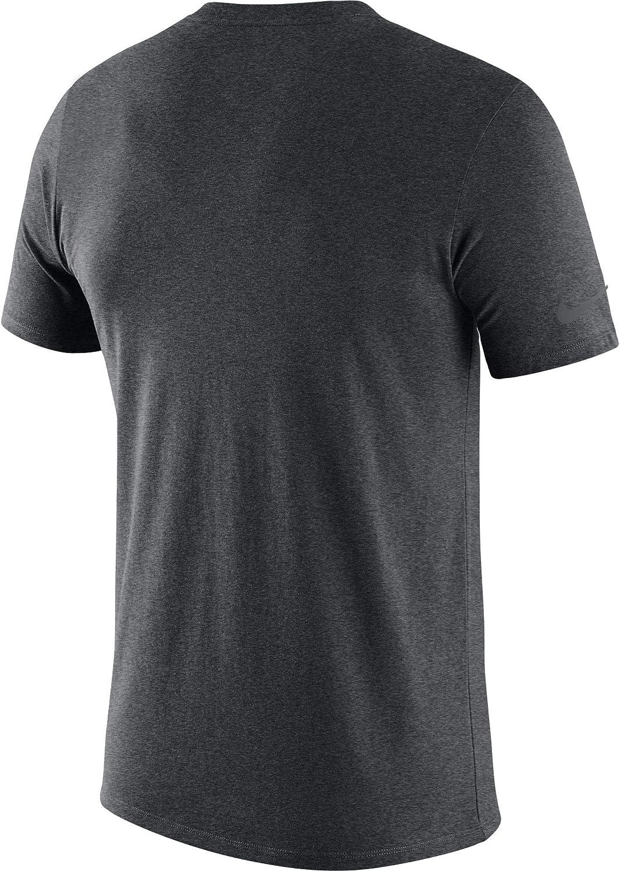 Nike Mens Ohio State Buckeyes Gray Legend Football Sideline Dri-Fit T-Shirt