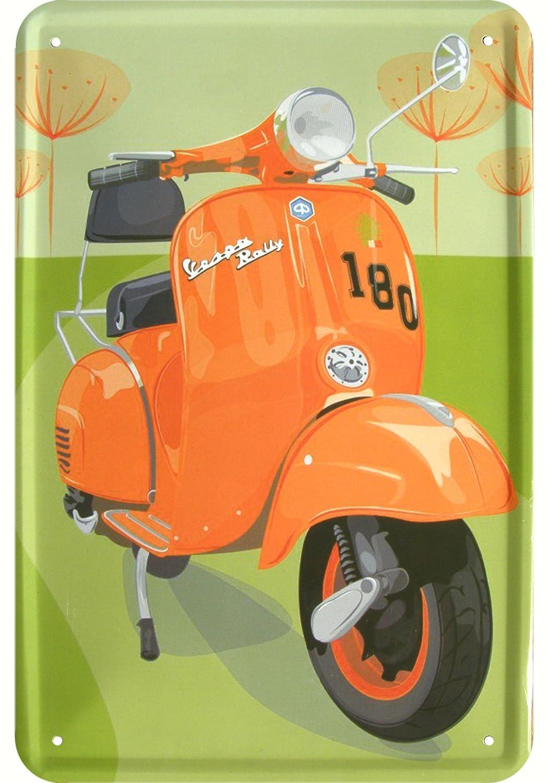 Vespa Kult Patinete Reklame Diseño Cartel de chapa Réplica ...