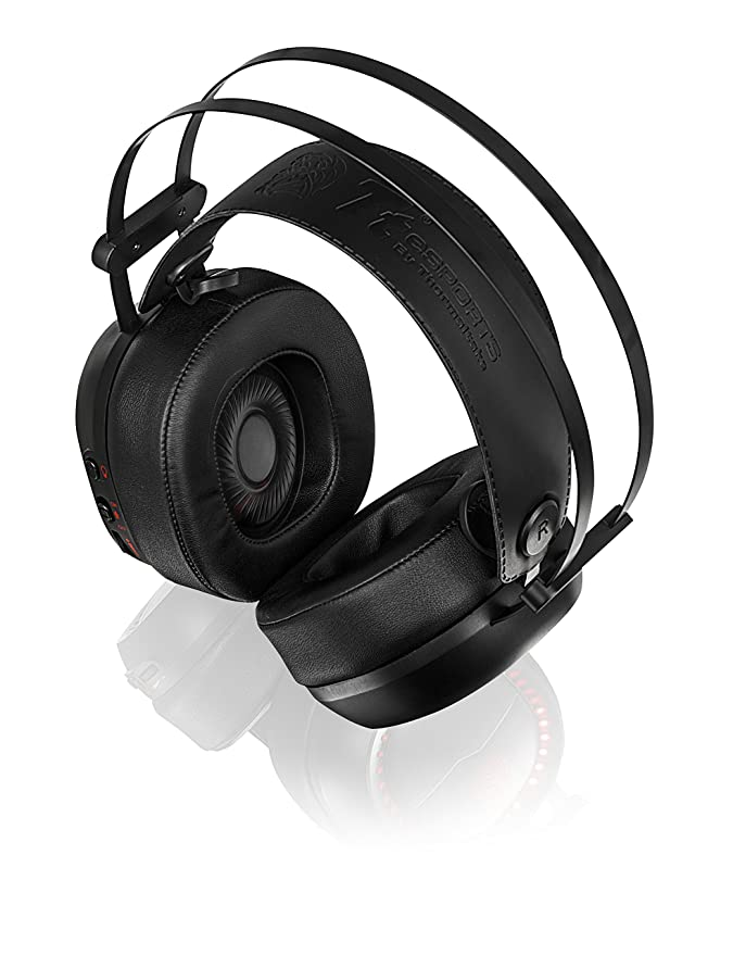 Thermaltake Tt Esports Shock Pro Rgb Analog Stereo Gaming Headset