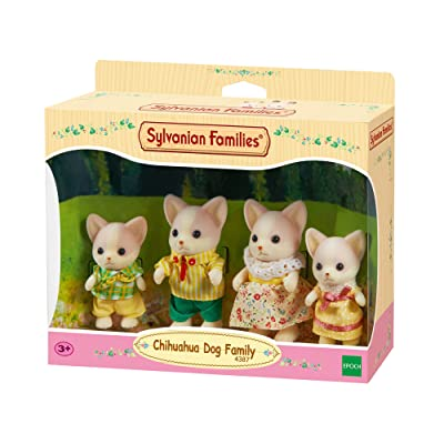 Sylvanian Families Chihuahua Dog Family: Toys & Games