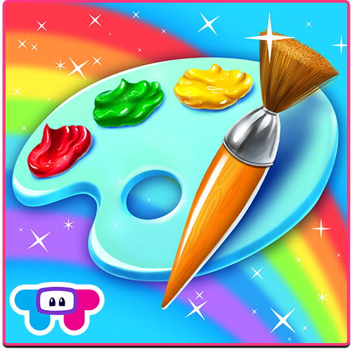 Paint Sparkles Draw - My First Coloring Book HD! -