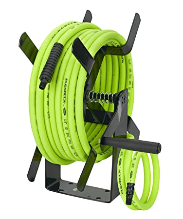 Flexzilla Manual Open Face Air Hose Reel, 3/8 In. X 50 Ft