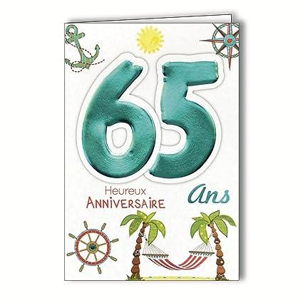 Age MV 69 - 2039 tarjeta cumpleaños 65 años hombre mujer ...